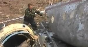 Smoleńsk - niszczenie wraku Tu-154 M przez Rosjan