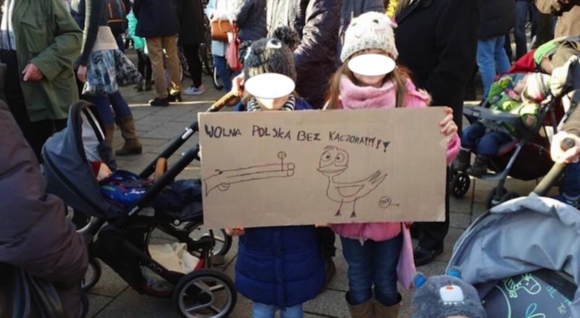 Kaczor - Bolszewicka nienawiść - dzieci strzejają