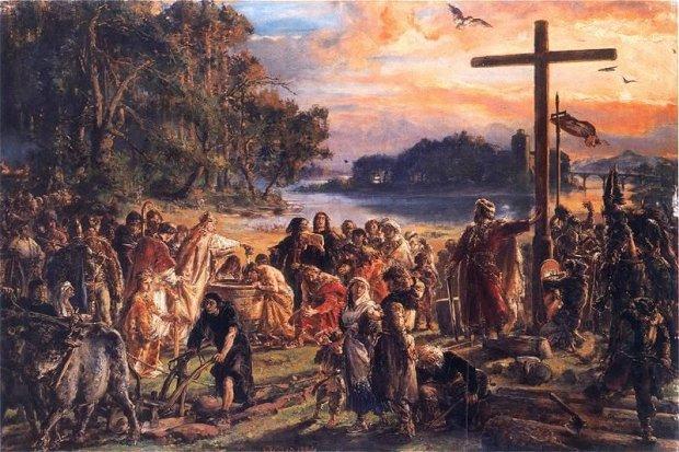 z6637560Q,Zaprowadzenie-chrzescijanstwa--Jan-Matejko
