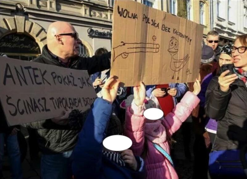 Kaczor - Bolszewicka nienawiść - dzieci strzejają do
