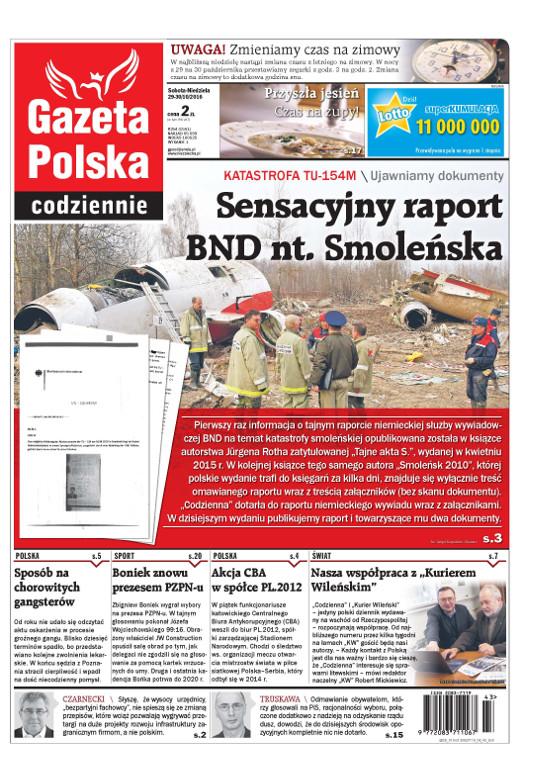 GP - Raport  BND o Smoleńsku