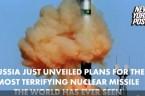 """Sowiecko-rosyjscy zbrodniarze stworzyli """"Szatana"""" Jest to rakieta RS-28 Sarmat, określana przez specjalistów z NATO jako Szatan 2. Rakieta ta ważąca 100 ton może przenosić 10 ciężkich głowic nuklearnych lub 16 […]"""