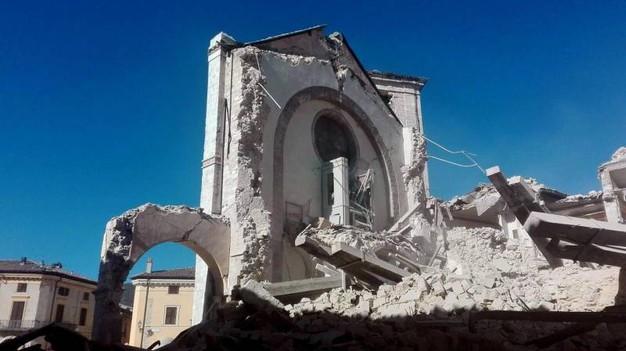 Kościół Św. Benedykta w Nursji - dzisiaj...