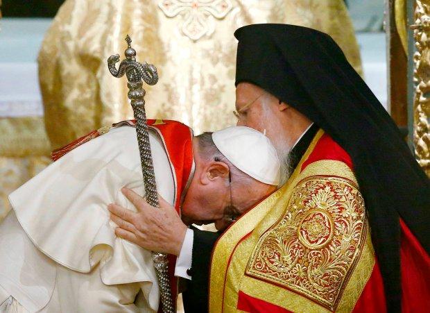 W geście czyż nie nadmiernej pokory?...z patriarchą Bartłomiejem I