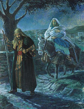 Józef i Maryja w podróży
