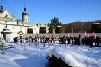 Pielgrzymka ludzi pracy z Krakowa w 154-tą rocznicę wybuchu Powstania Styczniowego do grobu św. Rafała Kalinowskiego w Czernej/k. Krzeszowic Czerna, 22 stycznia 2017 r.