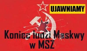 koniec systemu PRL w MSZ