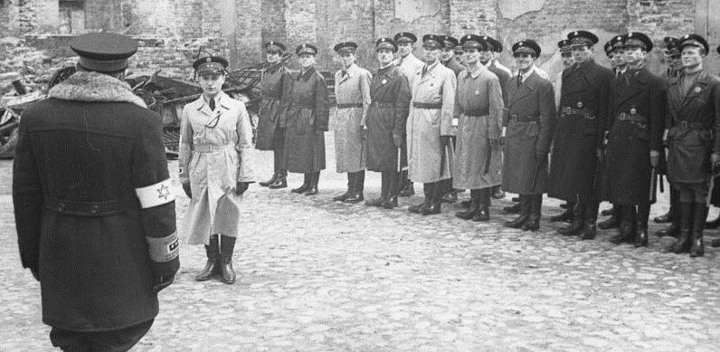 policjanci żydowscy