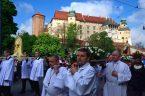 Ku czci św. Stanisława – procesja z Wawelu na Skałkę Kraków 14 maja 2017 r.