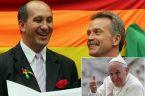 """Tony Reis, działacz LGBT i jego """"mąż"""" pochwalili się otrzymaniem od papieża błogosławieństwa z powodu chrztu adoptowanych przez siebie dzieci. Para pederastów, Toni Reis i David Harrad zawarła """"małżeństwo"""" sześć […]"""
