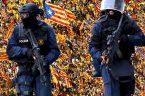 """za niedzielne brutalne wyczyny wysłanych uprzednio do Katalonii ponad 10 tys. funkcjonariuszy policji i Gwardii Cywilnej [patrz {TUTAJ (link is external)}]. Wczoraj, w czwartek 5.10.2017, dowiedzieliśmy się, że: """"Według mediów […]"""