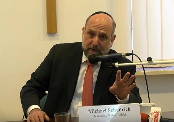 Michael Schudrich, naczelny rabin Polski odpowiada na pytania Grzegorza Brauna i pana Nikt