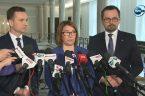 """Rzeczniczka partii rządzącej Beata Mazurek na konferencji prasowej podkreśliła, że PiS jest """"partią katolicką"""". Niejest tajemnicą, żemy opowiadamy się zaobroną życia odpoczęcia, ażdonaturalnej śmierci. W odniesieniu do projektu """" […]"""
