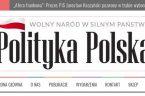 """Redakcja """"Ekspedyta"""" otrzymała od zespołu portalu """"Polityka Polska"""" garść informacji. Oto one:"""