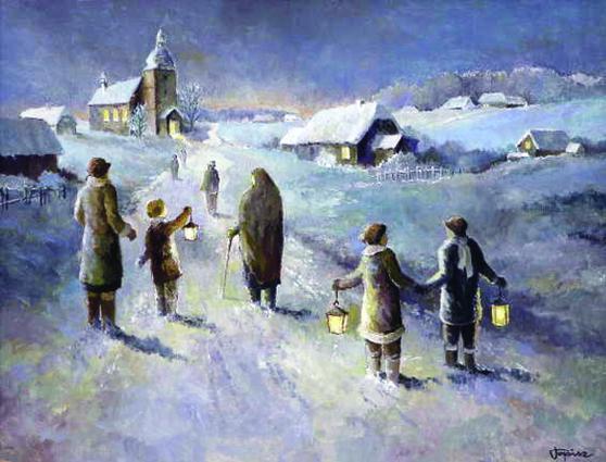 . Adwent w dziejach Polski odgrywał wielką rolę w przygotowaniu do świąt Bożego Narodzenia, obchodzono go dostojnie, poważnie, z wielką tęsknotą na cud Pańskich Narodzin. Na Roraty udawano się wspólnie, […]
