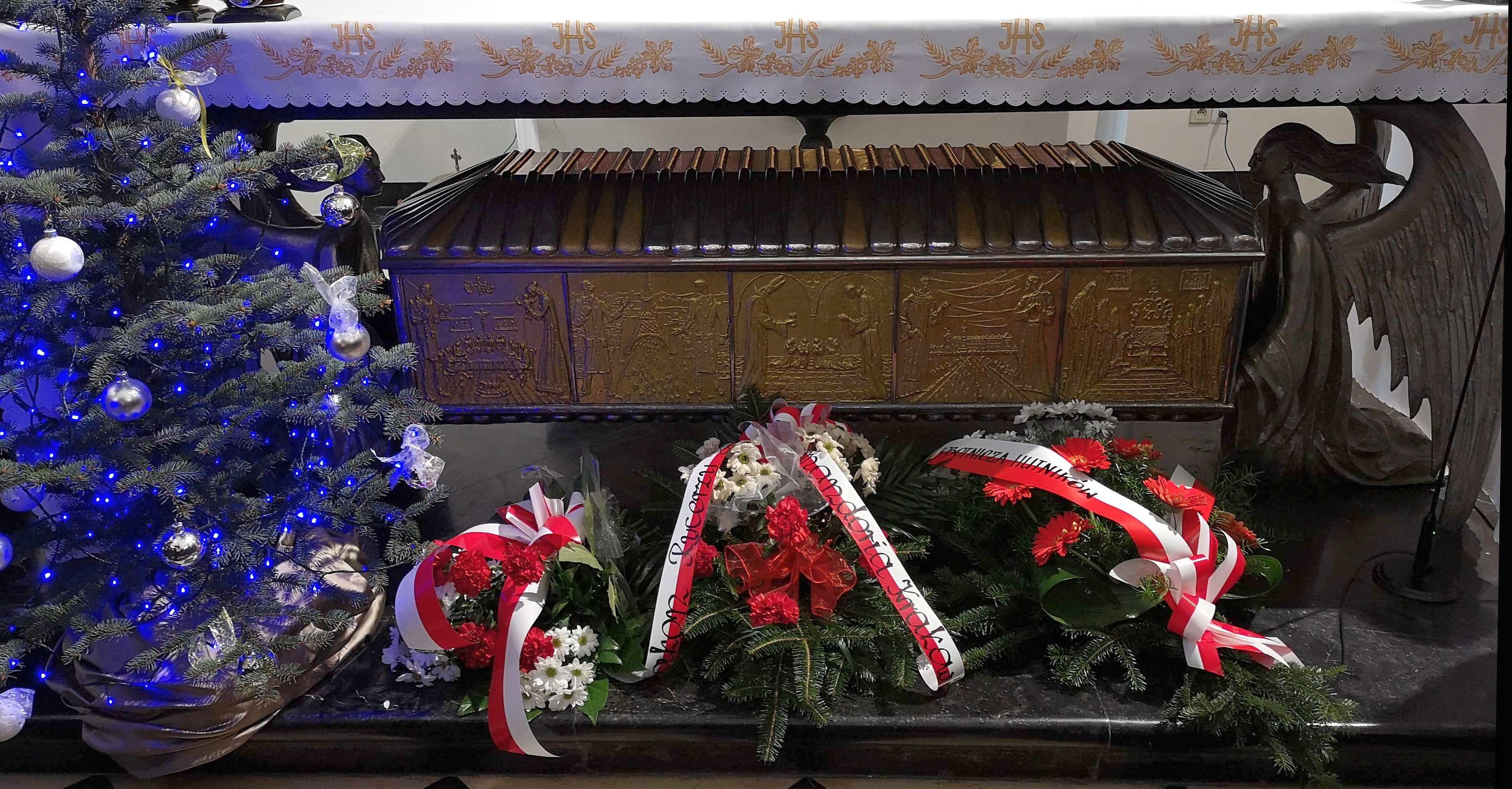 Pielgrzymka Ludzi Pracy do grobu św. Rafała Kalinowskiego w Czernej z okazji 156 rocznicy Powstania Styczniowego 20 stycznia 2019 r.