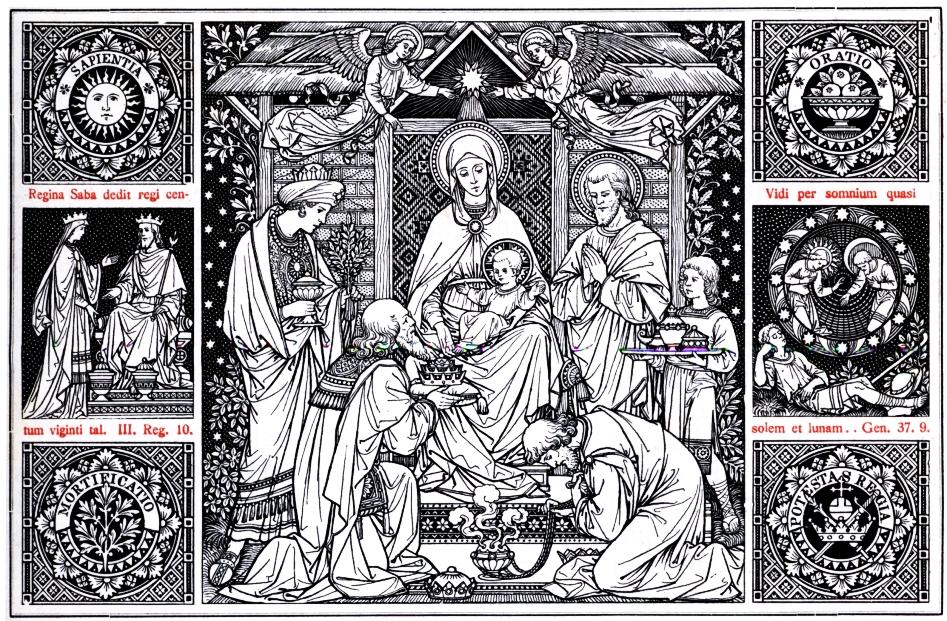 . . Niech będzie pochwalony Jezus Chrystus! «Obchodzimy dzień święty, wsławiony trzema cudami: dzisiaj gwiazda przywiodła Mędrców do żłóbka, dzisiaj na godach woda przemieniła się w wino, dzisiaj Chrystus chciał […]