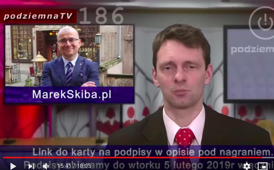 Pan Marek Skiba kandyduje w wyborach na prezydenta Gdańska. Prosimy o zbieranie podpisów.