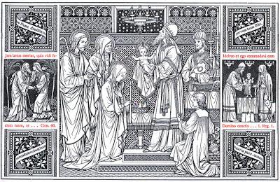 . . Według przepisów Starego Testamentu każdy pierworodny chłopiec należał do Boga. Rodzice musieli go przedstawić w świątyni i wykupić, składając na ofiarę baranka lub parę gołąbków. Ponadto matka, która […]