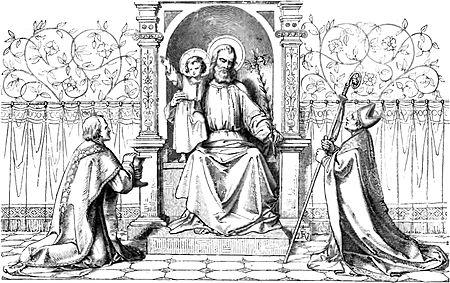 """. Patrocinio de San Jose, Gaspar Miguel del Berrio, (1706 – 1761). . """"Duszo moja, niech pieśń twoja głosi Józefowi cześć! On wybrany, niezrównany, więc mu hołdy trzeba nieść. Z […]"""
