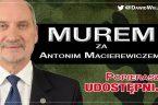 """Antoni Macierewicz: Zwracam się do wszystkich prawdziwych polskich narodowców: rozważcie czy warto służyć """"Gazecie Wyborczej"""" i Putinowi Zastanawiałem się, skąd wzięły się środowiska, które powołując się naformację narodową iprawicową, sątak […]"""