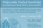 . Z A P R O S Z E N I E 8 czerwca 2019 r. odbędzie się pielgrzymka Wiernych Tradycji Łacińskiej do Sanktuarium Matki Bożej w Gietrzwałdzie, w intencji […]