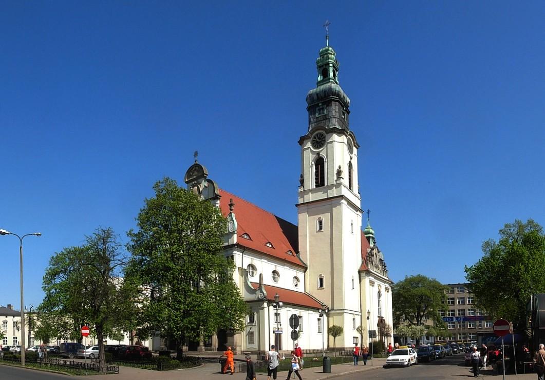 Kościół Najświętszego Serca Pana Jezusa w Bydgoszczy przy Placu Piastowskim w Bydgoszczy