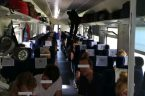 Sierpniowy poranek. W pociągu, którym 5 raz na przestrzeni ostatnich 15 miesięcy jadę do Grodna, w wagonie bezprzedziałowym (czyli takim, w którym zamiast przedziałów jakiś idiota, jak w pierwszym lepszym […]