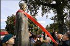 Odsłonięcie pomnika ks. Władysława Gurgacza w Łabowej