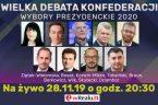 Szanowni Państwo Z zaciekawieniem przyjąłem informację o debacie kandydatów na kandydata na prezydenta RP z ramienia Konfederacji, która odbyła się 28.11.2019 w studio telewizji wRealu24.pl. Link do debaty poniżej:  […]