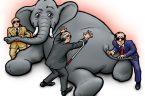 Bardzo znana jest hinduska bajka o sześciu ślepcach i słoniu. Mówi ona o tym, jak sześciu ślepców próbuje opisać słonia. Każdy z nich dotyka innej części ciała zwierzęcia i daje […]