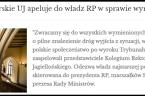 Nie mogę jako Obywatel nie zareagować na: 'Apel Kolegium Rektorskiego Uniwersytetu Jagiellońskiego do Władz RP w sprawie wyroku Trybunału Konstytucyjnego'z dnia 22 października 2020 r. wystosowany do : Andrzej Duda […]
