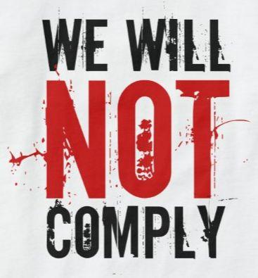 Terror czyli po co ta kampania not comply ac