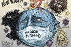 """Ben Garrison jest amerykańskim rysownikiem politycznym postrzeganym jako sympatyk """"skrajnej prawicy"""". W Wikipedii opis jego osoby zawiera następujący fragment: Wyprodukował kontrowersyjne kreskówki, które zostały scharakteryzowane jako seksistowskie, rasistowskie, islamofobiczne, antyszczepionkowe […]"""