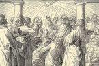 """Zesłanie Ducha Świętego oznacza początek Kościoła. W tym dniu, jak pisze św. Łukasz w Dziejach Apostolskich, grono Apostołów zostało """"uzbrojone mocą z wysoka"""". W języku liturgicznym święto Ducha Świętego nazywa […]"""