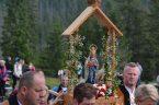 U Królowej Tatr W 160 rocznicę objawień Matki Bożej Marysi Murzańskiej na Wiktorówkach. Uroczystość na Polanie Rusinowej 3 lipca 2021 r.