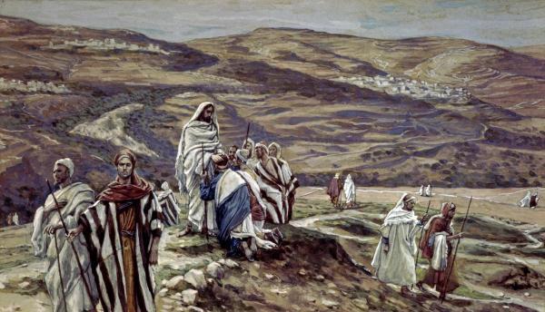 Wysłanie 72 Apostołów