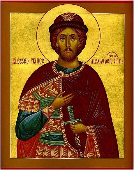 Aleksander Newski ikona