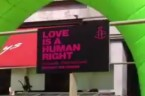 """Zdjęcie:Typowo bolszewickie zakłamanie homoterrorystów. Hasło """"Love is a humn right"""" na paradach — a straszenie śmiercią i wyrokami za """"mowę nienawiści"""" na codzień…  Homoterror dziczy — ks. Dariusz […]"""