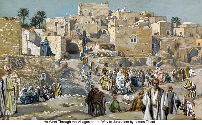 James_Tissot_He_Went_Through_the_Villages_on_the_Way_to_Jerusalem_700