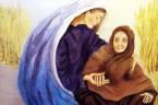 (Rt 1,1.3-6.14b-16.22) W czasach, gdy rządzili sędziowie, nastał głód w kraju. Z Betlejem judzkiego wyszedł pewien człowiek ze swoją żoną i swymi dwoma synami, aby osiedlić się w ziemi Moabu. […]