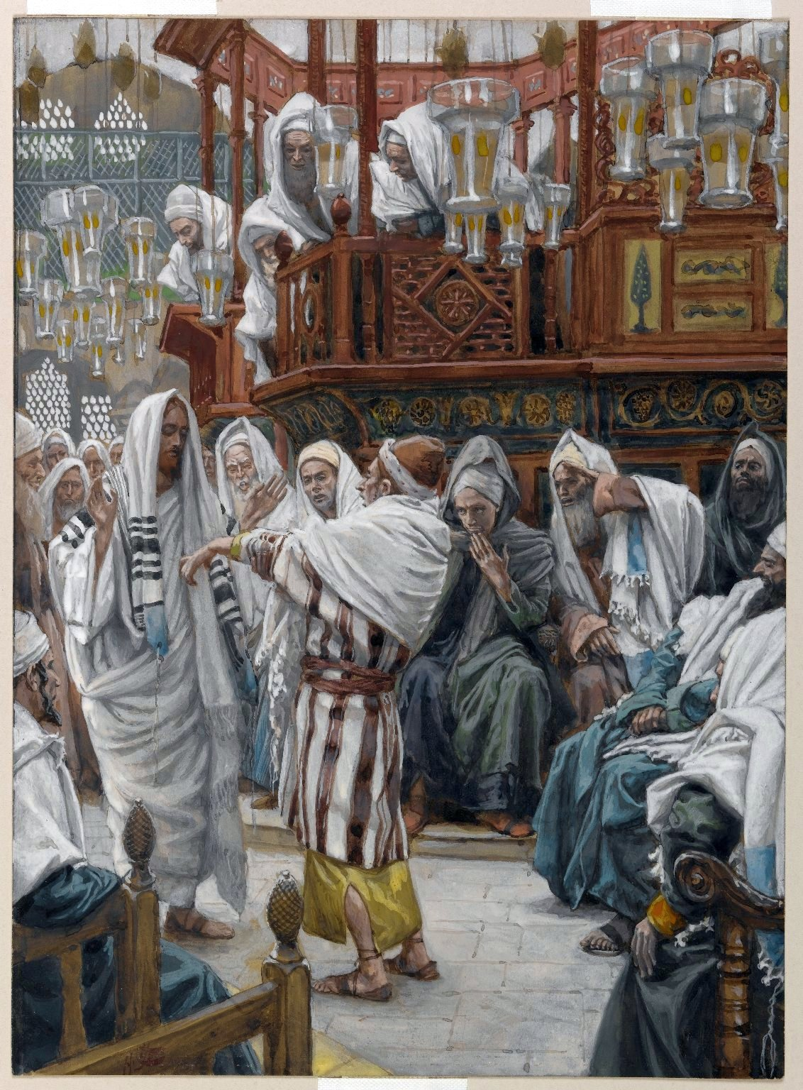 Miracle 7_The Man with the Withered Hand_Tissot