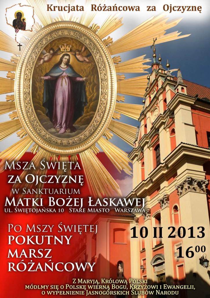 Msza i Marsz 10022013