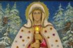 """Purificationis Beatae Mariae Virginis*  """"Gdy życie nasze dobiegnie do końca, Gdy Bóg ostatnie godziny policzy, Niech nam zaświeci, jak promienie słońca, Światło gromnicy. Gdy nasze czoło pot śmiertelny zrosi, […]"""