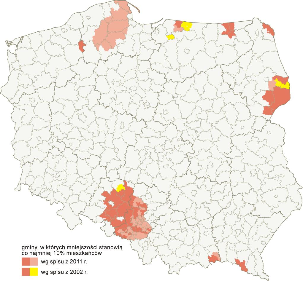 POLSKA_mniejszości