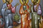 (Ap 21,9b-14) Anioł tak się do mnie odezwał: Chodź, ukażę ci Oblubienicę, Małżonkę Baranka. I uniósł mnie w zachwyceniu na górę wielką i wyniosłą, i ukazał mi Miasto Święte […]