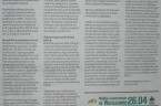 """W """"Warszawskiej Gazecie"""" Nr 16 ukazał się mój tekst pt. """"Sprawa Zygmunta Korusa nadal utajniona"""". Zawiera on m.in. wypowiedzi mecenasa Cichonia w kwestii bezzasadnego utajniania rozpraw sądowych. Oto pełen […]"""