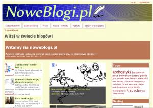 Strona główna  Noweblogi