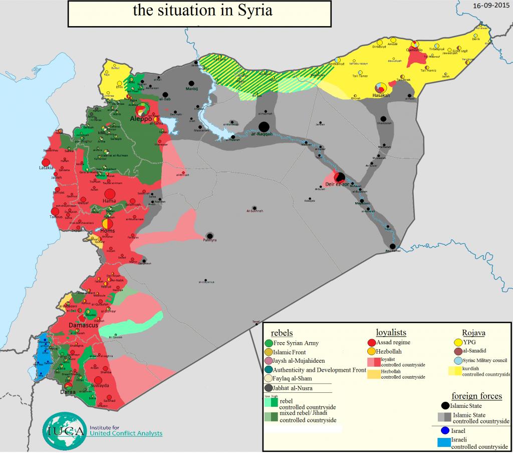 Syria wrzesień 2015