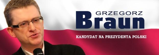 Wysłany 02.03.2015 o 07:55 Dramatyczny apel Kandydata Grzegorza Brauna o zbieranie podpisów poparcia – jeżeli chcemy aby Kandydat został zarejestrowany i był obecny w drugiej części kampanii...